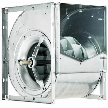 Motorlu motorsuz çift emişli radyal fanlar, öne eğimli sık kanatlı ve geriye eğimli seyrek kanat havalandırma fanları iç fan