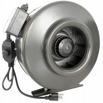 Yuvarlak kanal tipi radyal ve aksiyel fanlar, plastik ve metal kanal fanları