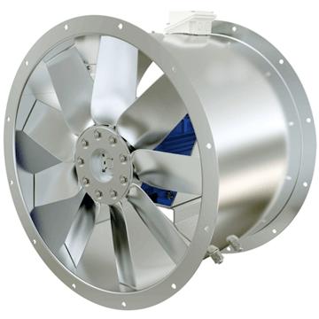 Yangın duman tahliye ve negzoz fanları, duman egzost aspiratörleri, kanal tipi aksiyel f300, f400 fanlar