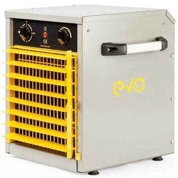 Sanayi tipi elektrikli fanlı ısıtıcılar, mazotlu ısıtıcılar ve kanal tipi ısıtıcılar