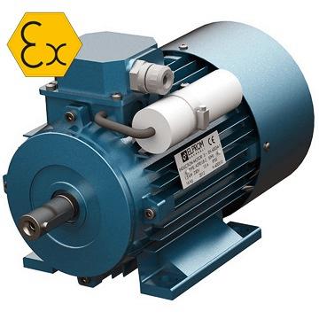 Standart ve exproof ac elektrik motoru çeşitleri