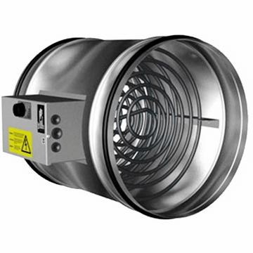 Yuvarlak kanal tipi elektrikli rezistanslı ısıtıcı