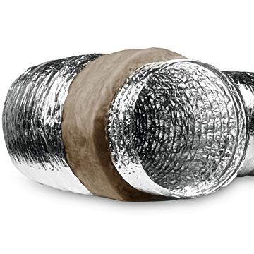 Alumiyum izoleli flexible hava kanalı, flexible hortum