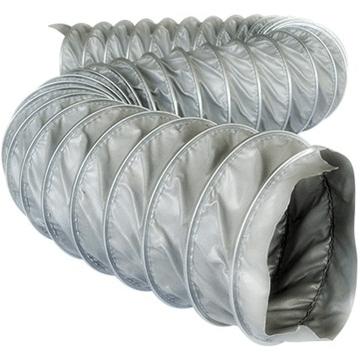 Clıp silicone, dıştan klipsli silikon kumaşlı endüstriyel hortumlar, yüksek ısı dayanımlı havalandırma boruları