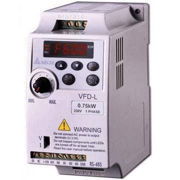 Delte vfd-l motor sürücü hız kontrol frekans inverteri trifaze, monofaze