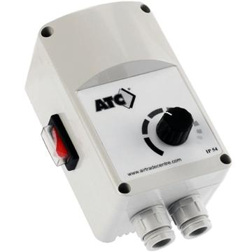 atc air tradecentre 220 volt monofaze fan aspiratör hız ayarı dimmer anahtar elektronik hız ayarı