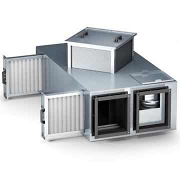 Tavan tipi aluminyum eşanjörlü ızı geri kazanım cihazı, ısı geri kazanım ünitesi, fiyatları, modelleri ve çeşitleri