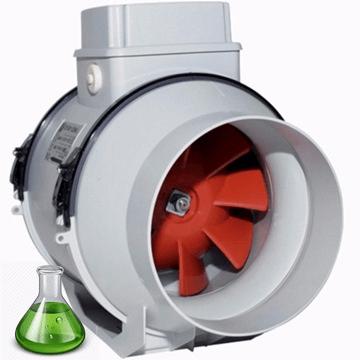 PPs plastik kanal tipi radyal asitli ortam fanı, asit buharı tahliye aspiratörü, vortice lineo, pp asit fanı, plastik asit fanı, kimyasal buhar emici fanlar, çeker ocak aspiratörü