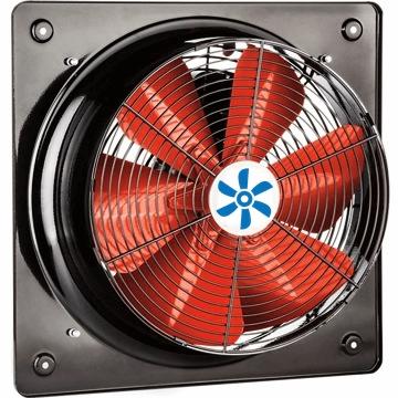 Sanayi tipi, duvar tipi aksiyel havalandırma fanları, egsoz aspiratörleri