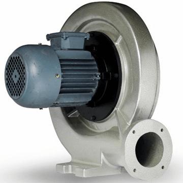 Aluminyum döküm gövdeli ERF salyangoz aspiratör, dıştan motorlu, direkt akuple, aspiratör, döküm tip salyangoz havalandırma fanları, salyangoz pervane