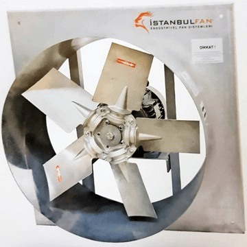AK aluminyum kanatlı kare kasalı sanayi tipi endüstriyel egsoz aspiratörü, axial eksenel havalandırma fanları fiyat listesi, özel imalat