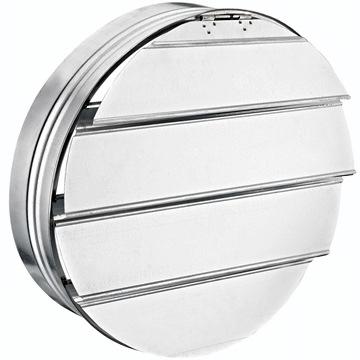 BASP geri akış panjuru galvaniz metal hareketli panjur, aksiyel fan panjuru, hava hareketli panjur back draft, bvn bahçıvan bsp