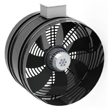 AYBT boru tipi aksiyel sac gövdeli fan aspirtör, kanal tipi baca fanları, sera sirkülasyon fanları