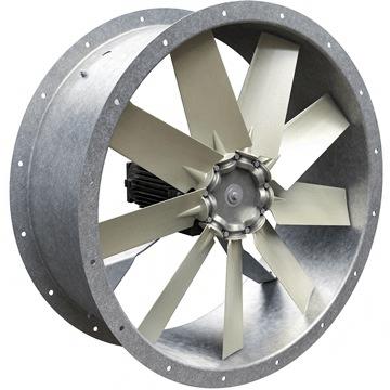 yuvarlak kanal tipi aksiyel havalandırma fanları kovanlı tip aksiyal fan aspiratör ventilatör çeşitleri
