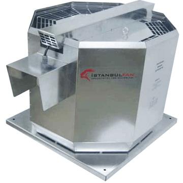 DDCF dikey atışlı radyal motoru hava akımı dışında ısıya dayanıklı çatı fanı çeşitleri mutfak davlunbaz baca tipi emici çekiş fanları istanbulfan ddc çatı fanı fiyatı, istanbul, ankara, izmir