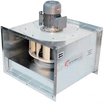 Kare kanal tipi DKF motoru hava akımı dıişında 120C' sürekli çalışabilen kanal arası mutfak davlumbaz fanı, kanal tipi davlumbaz havalandırma fanları yağ tutmaz güçlü, emici