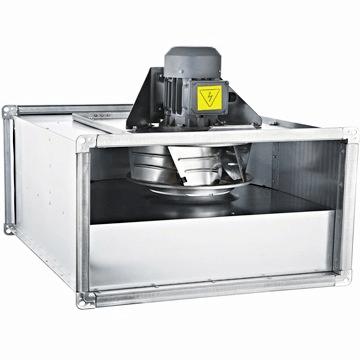 BDKF-R dıştan motorlu endüstriyel mutfak havalandırma fanı, davlumbaz ızgara tipi emici havalandırma fanları
