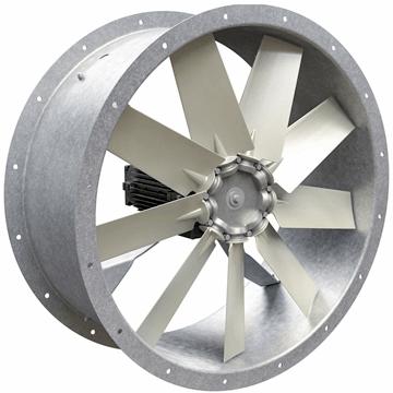 AXD kanal tipi silindirik gövdeli aksiyel fan, kovanlı aluminyum ve plastik kanatlı aksiyal kanal fanları, vitlo axd