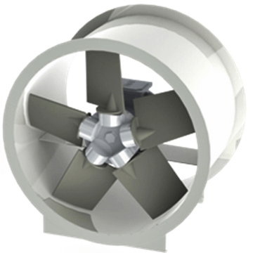 AKPP plastik polyamid kanatlı pervaneli, direkt akuple mottorlu kanal tipi kovanlı aksiyel fan activent aktif motor akpp