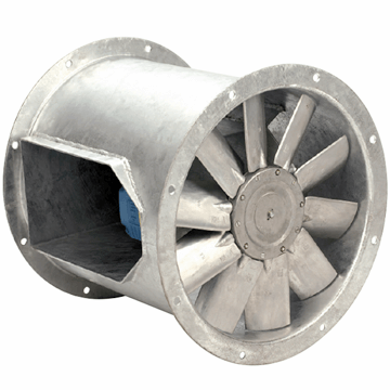 AXB bifurcated kanal tipi fan, motoru hava akımı dışında aluminyum veya plastik kanatlı kanal tipi ısıya dayanıklı aksiyal egzoz fanı vitlo axb fan çeşitleri, özellikleri ve fiyatları