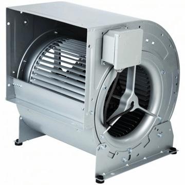 CBM çift emişli kendinden motorlu radyal fan, öne eğimli sık kanatlı, soler palau afs cbm