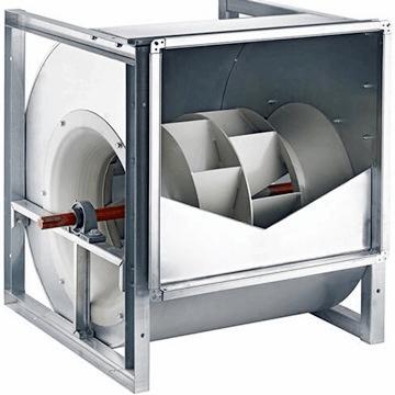 RCRD Geriye eğimli seyrek kanatlı çift emişli yüksek kapasiteleri radyal iç fan fiyatları, activent aktif motor radyal iç fanlar, rcad nicotra