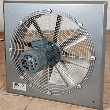 Duvar tipi aksiyel endüstriyel havalandırma fanları, yüksek debili duvar tipi havalandırma aspiratörü imalatçısı ankara, istanbu, izmir