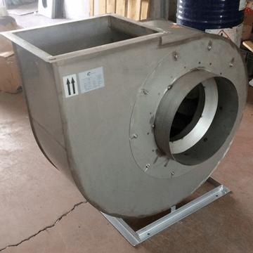 Paslanmaz çelik inox gövdeli ve inox pervaneli salyangoz fan