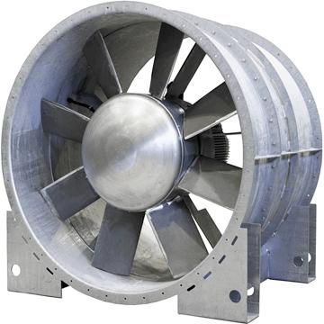 Yüksek basınçlı aksiyal kanal fanları, tünel havalandırma fanları