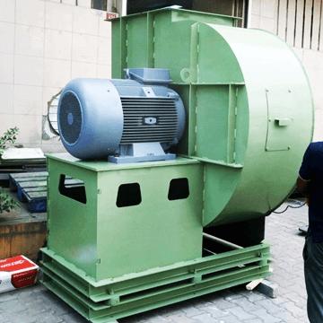 Yüksek debili yüksek kapasiteli ve yüksek basınçlı salyangoz direkt akuple fan