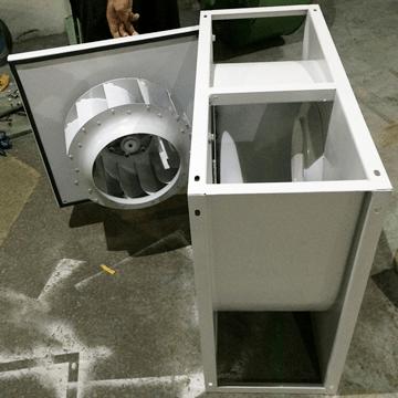 Kare gövdeli kapaklı salyangoz fani davlumbaz baca aspiratörü