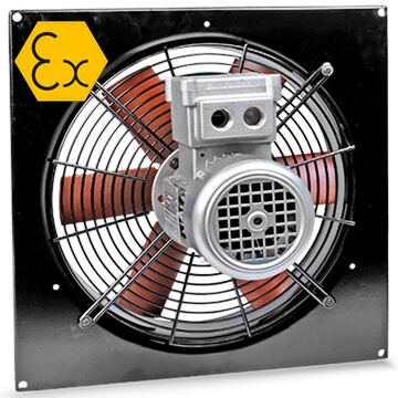 o.erre EB/ATEX duvar tipi aksiyal exproof fan, exproof egzoz aspiratörü