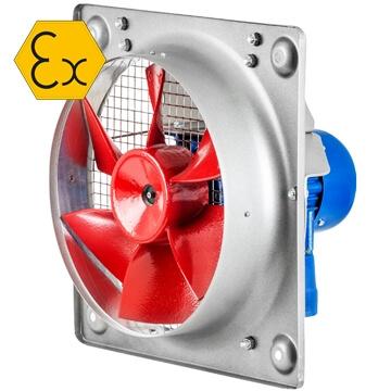 Soler palau HDT atex flameprof duvar tipi aksiyel egsoz aspiratörü, exproof fan, atex belgeli