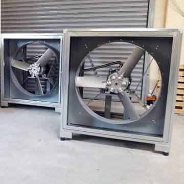 Hücreli tip duman tahliye fanı f300 f400 vitlo axh