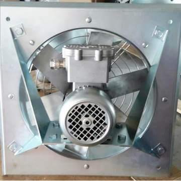Duvar tipi aksiyal duman tahliye fanı exproof aspiratör