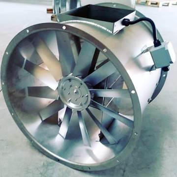 Vitlo axb motoru hava akımı dışında aksiyal ısıya dayanıklı kanal tipi fan