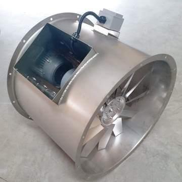 Bifurcated aksiyal kanal fanı axb vitlo