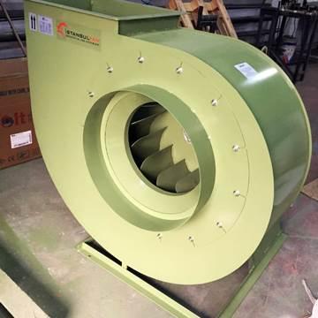 Alçak basınç geriye eğimli seyrek kanatlı salyangoz fan modelleri