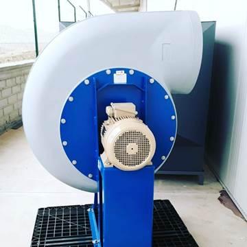 pp plastik salyangoz fan, asit fanı, nem tahliye fanı, polipropilen neme dayanıklı fan salyangoz