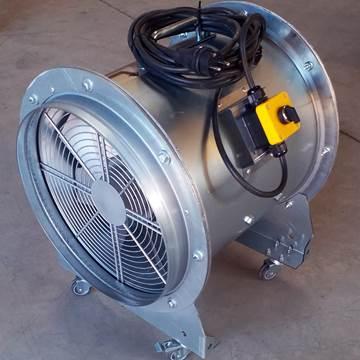 Mobil fan, mobil duman tahliye fanı, seyyar fan, seyyar havalandırma fanı, aspiratör, vantilatör