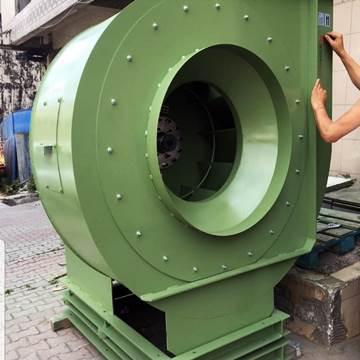 Endüstriyel santrifüj salyangoz fan imalatı, direkt akuple motorlu seyrek kanat