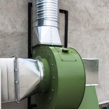 Salyangoz baca aspiratörü, salyangoz emici fan