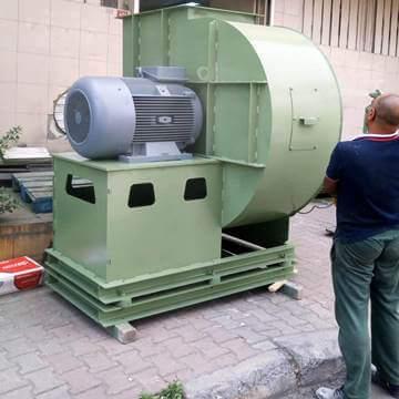 Yüksek kapasiteli özel salyangoz fan imalatı imalatçısı