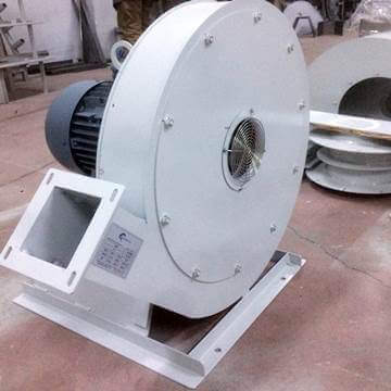 Orta basınçlı obs salyangoz tip havalandırma fanı