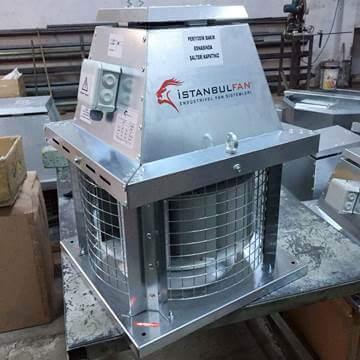 Çatı tipi mutfak davlumbaz baca fanı aspiratörü