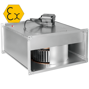 Ilt atex exproof radyal kanal tipi havalandırma fanı