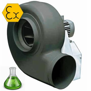 Venplast P atex exproof radyal santrifüj pp salyangoz fan, PE atex p 202, p 252, p 312, p 282, p 352, p 452, p 634