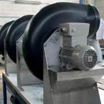 Ex-proof salyangoz aspiratör atex pp asit fanı venplast p