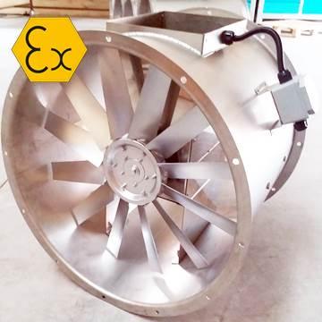Axd-b exproof havalandırma fanı, korozotif buhar tahliye aspiratörü atex belgeli