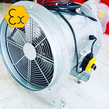 Seyyar exproof havalandırma fanı
